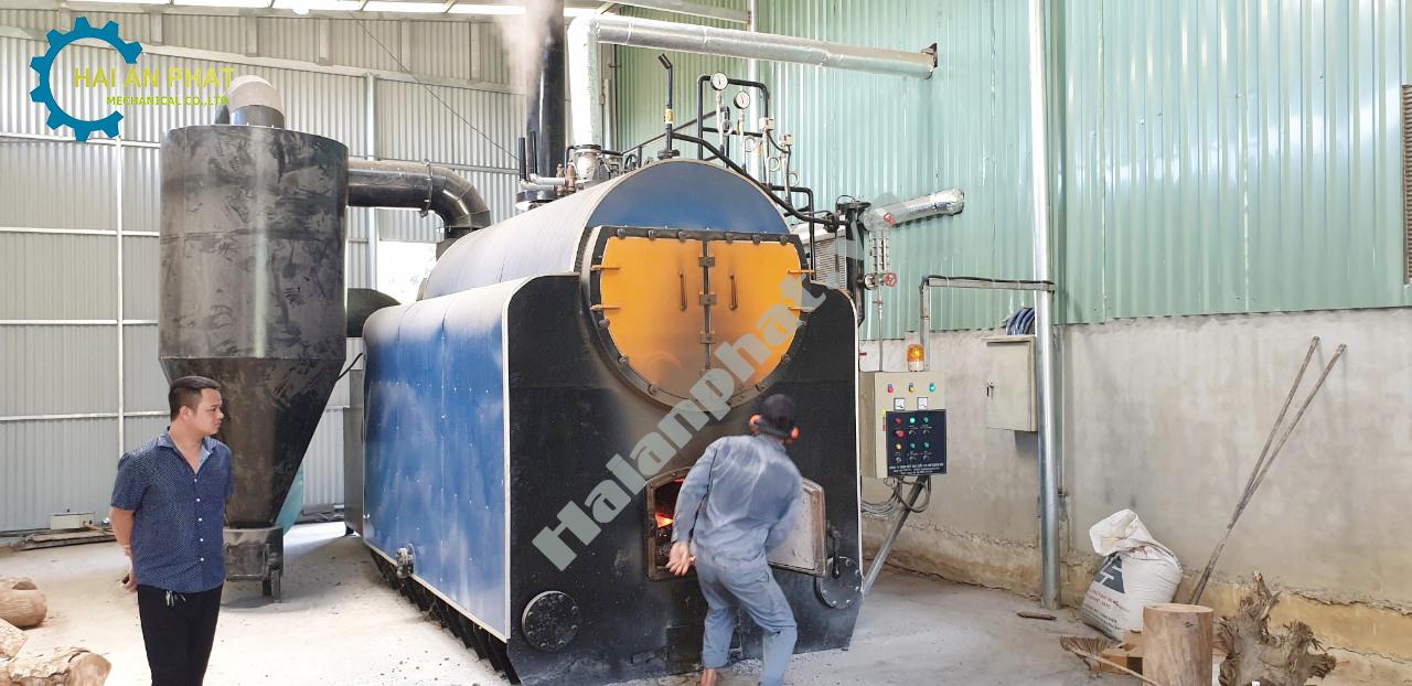 Máy sấy hơi nước công nghiệp