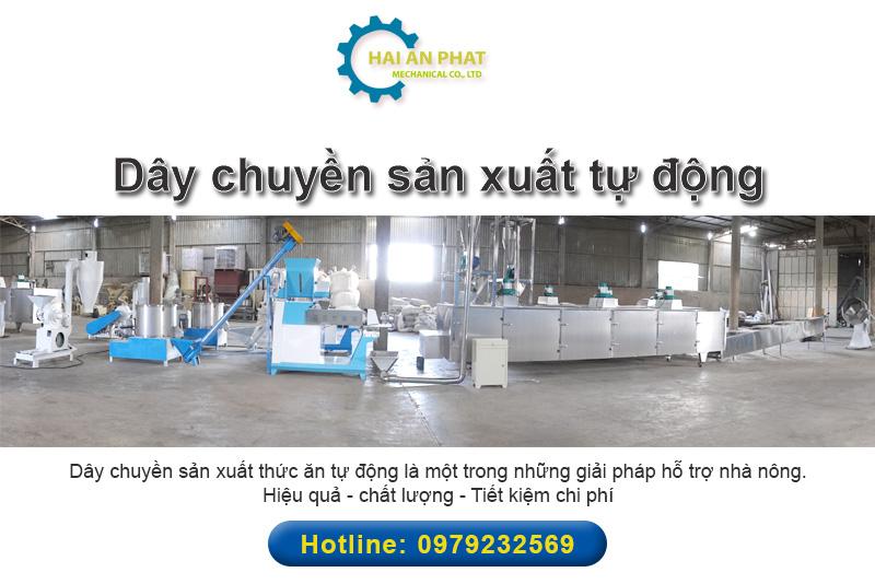 dây chuyền sản xuất tự động