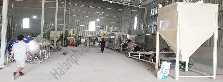 Dây chuyền sản xuất cám chăn nuôi