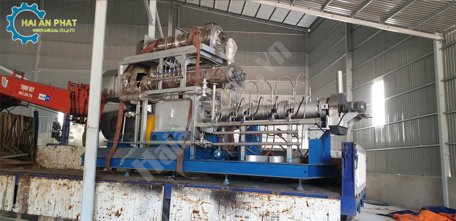 Máy ép viên cám thủy sản công nghệ cao